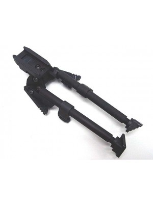 SEALS Tactical Rifle Shooter RIS Bipod Black