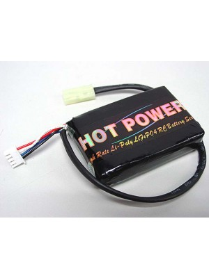 Hot Power 11.1V 1450mAh 15C Li-Po Li-Polymer Battery PEQ-15 Type