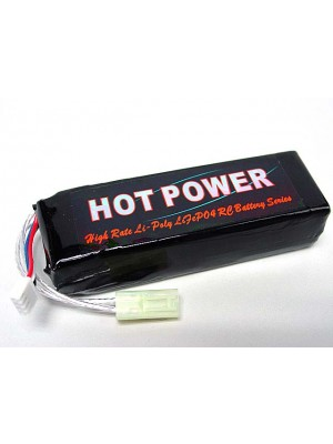 Hot Power 11.1V 2500mAh 20C Li-Po Li-Polymer Battery