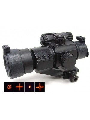 Comp M2 Type Red Dot Sight Scope with 4 Multi Reticle