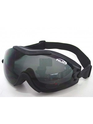 Tactical Airsoft Wind Dust Goggle Glasses Black #B