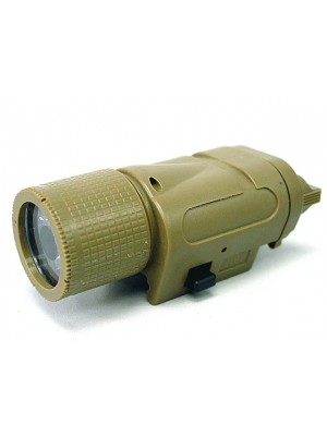Element M3X Tactical Illuminator Short Version Flashlight Tan