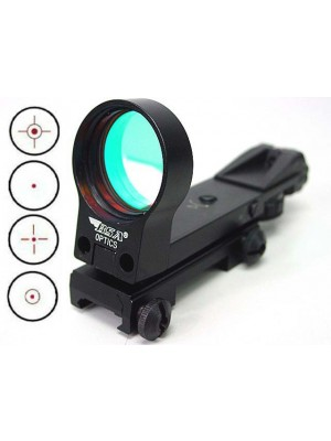 BSA RMRS Holographic Multi 4 Reticle Red Dot Sight Reflex Black