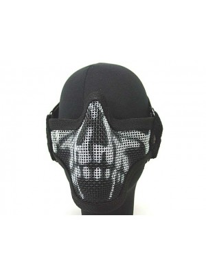 Black Bear Airsoft Stalker Style Shadow Mesh Mask Ghost