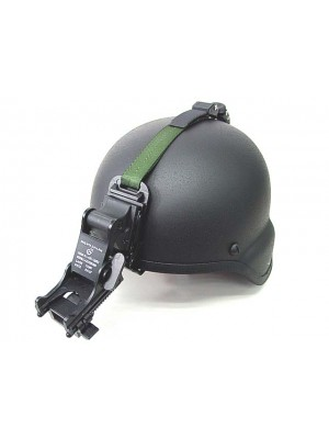 NVG PVS-7 14 Night Vision Goggle Mount Kit for MICH Helmet BK