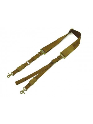 Big Dragon Single/Two Point Urban Rifle Sling Coyote Brown