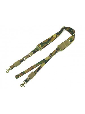 Big Dragon Single/Two Point Urban Rifle Sling Multi Camo