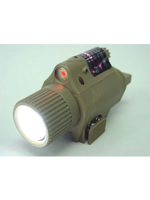 OP M6 180Lm LED Tactical Flashlight & Red Laser Sight Tan