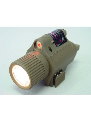 OP M6 65Lm Xenon Tactical Flashlight & Red Laser Sight Tan