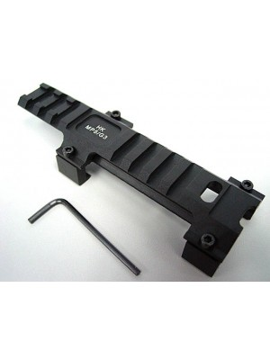 Milspec MP5/G3 Metal Weaver 20mm Scope Mount Base