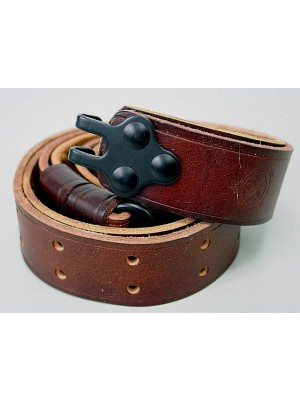 Big Dragon M14 Leather Rifle Sling Brown