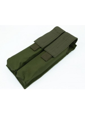 Airsoft Molle Double P90/UMP Magazine Pouch OD