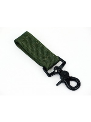 Army Force Single Point Key Chain Type B OD