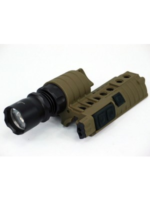 Element M500A Type M4 Handguard 190Lm CREE WeaponLight Tan