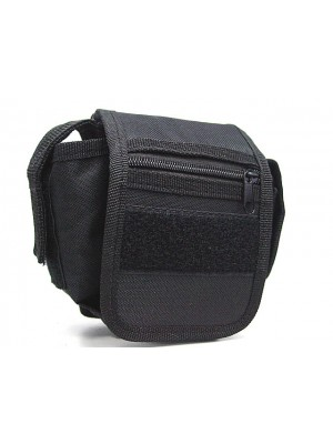 Utility Duty Tool Waist Pouch Carrier Bag Black