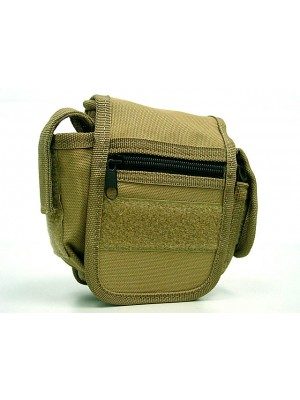 Utility Duty Tool Waist Pouch Carrier Bag Coyote Brown