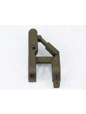 ARMS 41-B Silhouette Style Folding Front Sight for M4 Tan