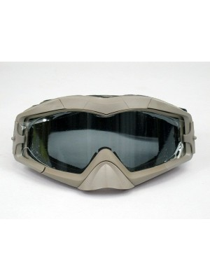 Airsoft OP AEC Tactical Goggles with 2 Lens Tan