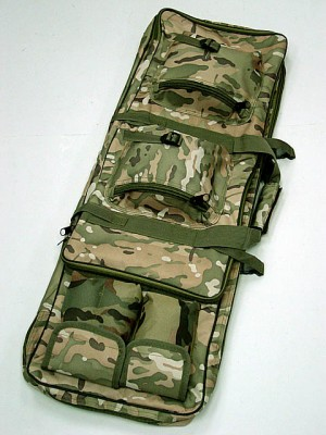 "33"" Dual Rifle Carrying Case Gun Bag Multi Camo"