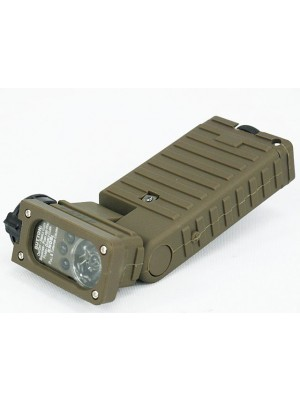Emerson Dummy Sidewinder Flashlight Tan