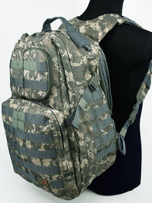 Patrol 3-Day Molle Assault Backpack Digital ACU Camo