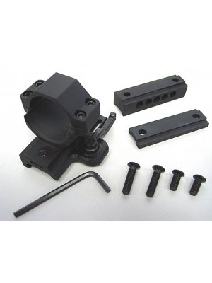 30mm Aimpoint Scope Red Dot Sight QD Mount w/2 Spacer