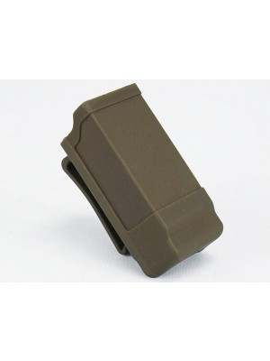 CQC Double Stack Pistol Magazine Pouch Case Tan