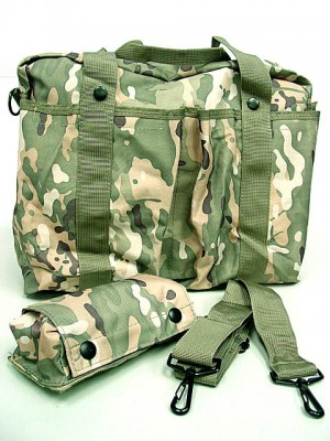 Tactical Shoulder 2 Ways Bowling Bag Multi Camo