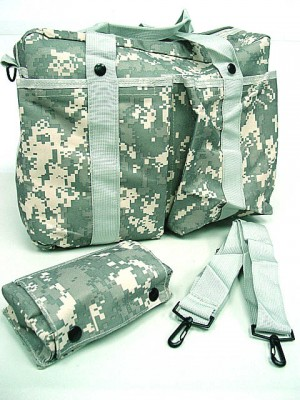 Tactical Shoulder 2 Ways Bowling Bag Digital ACU Camo