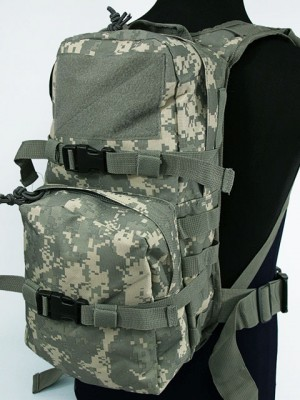 Tactical Utility Molle 3L Hydration Water Backpack ACU Camo