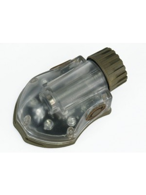 Helmet Manta Strobe Light Green LED/IR Tan
