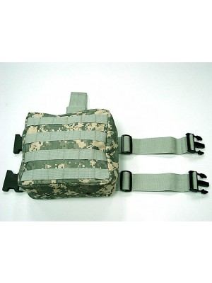 Molle Drop Leg Panel Utility Waist Pouch Bag Digital ACU Camo