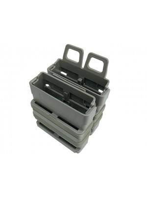 Molle FastMag Magazine Clip Set for 7.62 AK/M14 Foliage Green