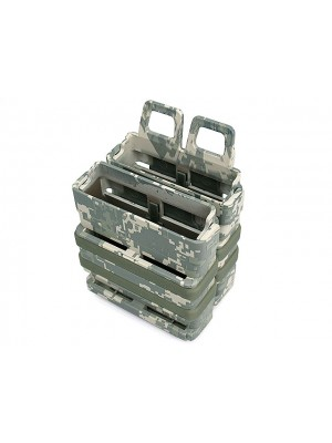 Molle FastMag Magazine Clip Set for 7.62 AK/M14 ACU Camo
