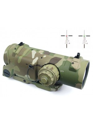 4x Elcan SpecterDR Type Red/Green Dot Sight Scope Multi Camo