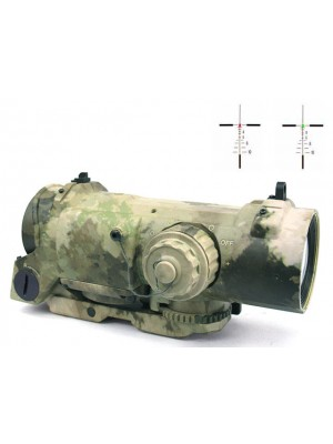 4x Elcan SpecterDR Type Red/Green Dot Sight Scope A-TACS Camo