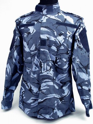 Marine BDU Field Uniform Set DPM Navy Blue Camo