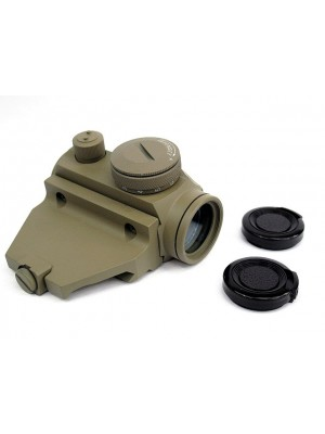 Element Micro T-1 Red/Green Dot Sight Scope w/Offset Mount Tan