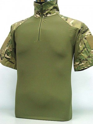 Tactical Combat T-Shirt Multi Camo