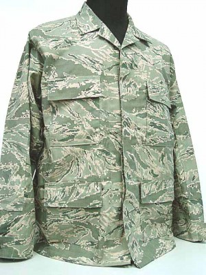 US Air Force ABU Camo Airman Battle BDU Uniform Set