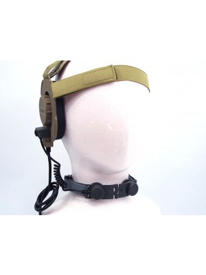Z Tactical Throat Mic for Bowman EVO III Headset ACU - Z045