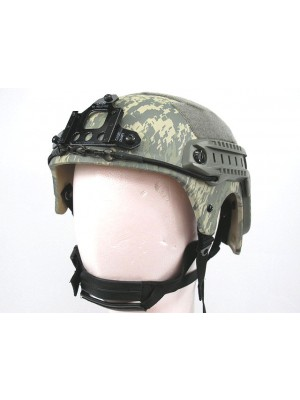 IBH Helmet with NVG Mount & Side Rail Digital ACU Camo