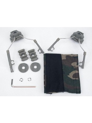 Z-Tactical Helmet Rail Adapter Set for Comtac I/II Headset ACU