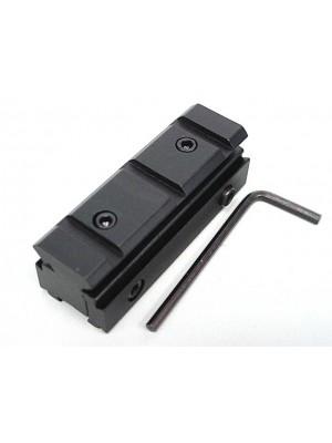 11mm to 20mm RIS Weaver Rail Scope Mount Base Adaptor