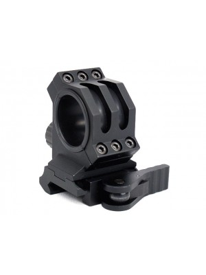 25mm/30mm Scope Red Dot Sight QD Lever Mount Black