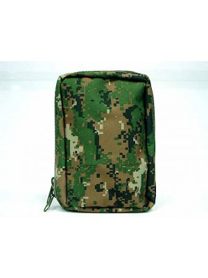 Molle Medic First Aid Pouch Bag Digital Camo Woodland