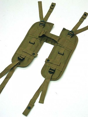 USMC USGI Load Bearing H Harness Suspender Coyote Brown