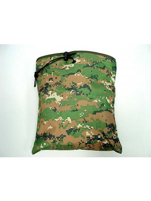 Molle Large Magazine Tool Drop Pouch Digital Camo Woodland