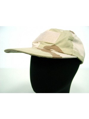 Velcro Patch Baseball Hat Cap Desert Camo