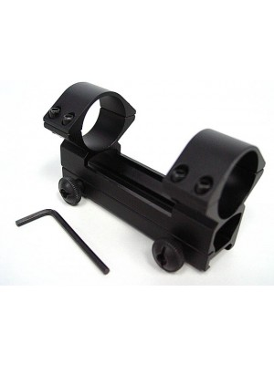 30mm High Profile QD Scope Dual Ring 20mm RIS Mount